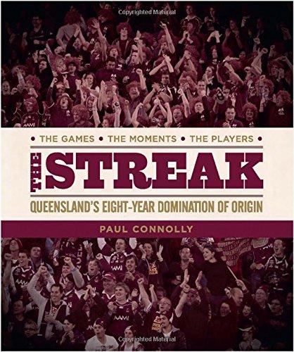 Streak, the:the Winning Maroons: Paul Connolly