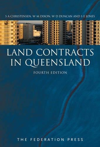 Land Contracts in Queensland (Paperback): Sharon Christensen