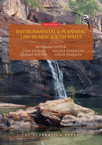 Environmental and Planning Law in New South Wales (Paperback): Rosemary Lyster