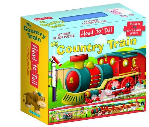 9781760062965: My Country Train Head to Tail Floor Pyzz