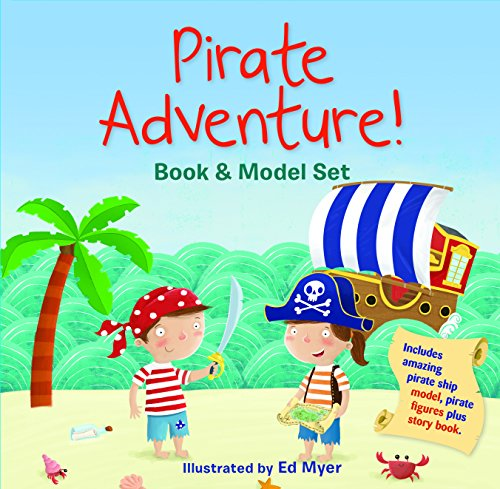 9781760064181: Pirate Adventure! Book and Model Set