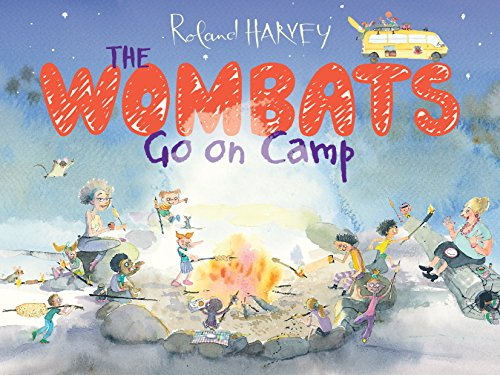 Wombats Go on Camp (Paperback): Roland Harvey