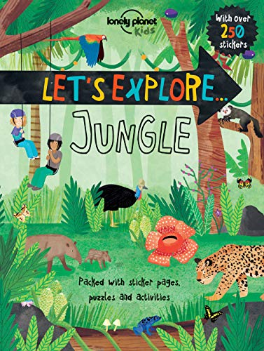 9781760340384: Let's Explore. Jungle (Lonely Planet Kids)