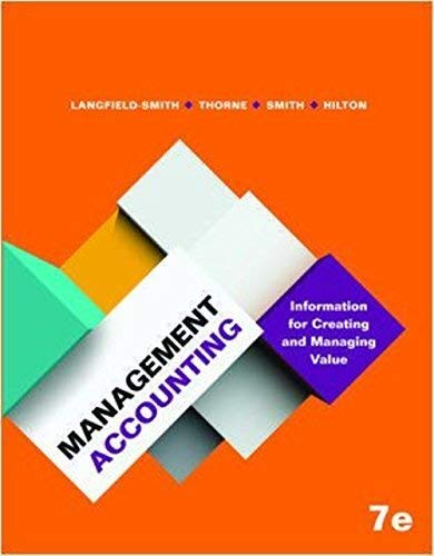 Management Accounting (Paperback): Smith, Thorne Langfield-Smith