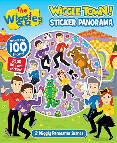 9781760682354: The Wiggles: Wiggle Town! Sticker Panorama