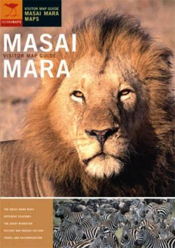 9781770090040: Masai Mara Visitor Map Guide