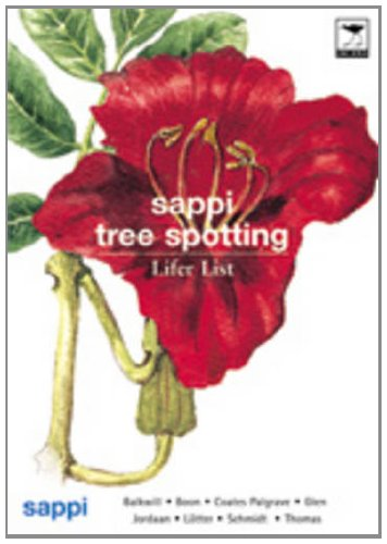 SAPPI Tree Spotting Lifer List: Balkwill, Boon,