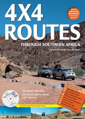 9781770262904: 4x4 Routes through Southern Africa: includes free bonus CD with GPS tracks and maps