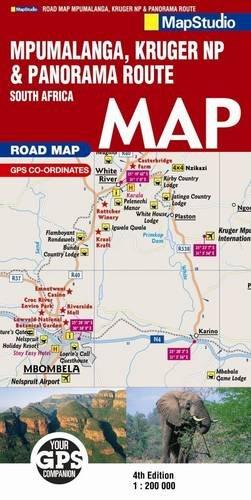 9781770263673: Road Map Mpumalanga Kruger National Park & Panorama Route