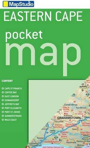 9781770263680: Eastern Cape Pocket Map 1:1,500,000- MapStudio