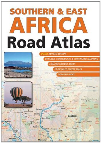9781770264366: Southern & East Africa Road Atlas  1 : 1 500 000