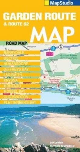 9781770265851: Garden Route & Route 62 Road Map 2014