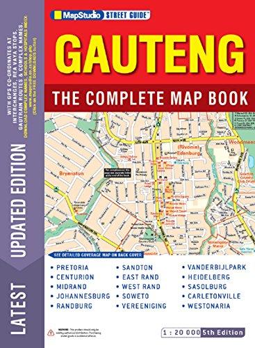 9781770266728: Street guide Gauteng complete