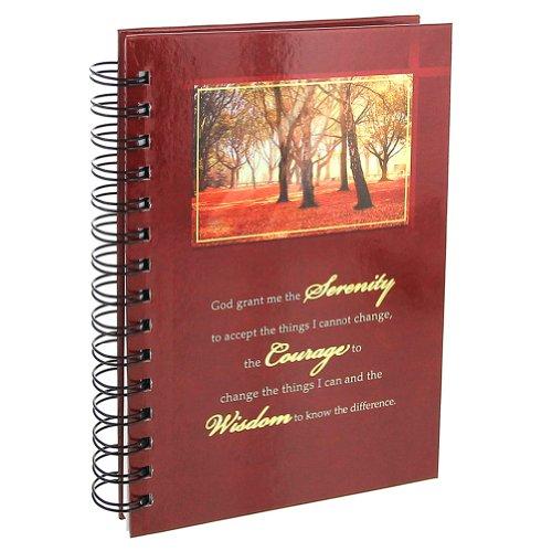 9781770362512: Serenity Prayer Hardcover Wirebound Journal
