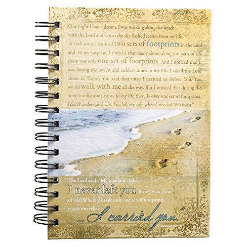 9781770362536: Footprints Prayer Hardcover Wirebound Journal