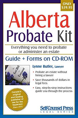 9781770400696: Alberta Probate Kit