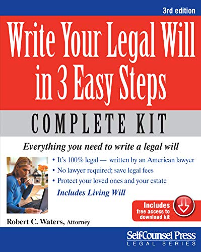 how to write a legal will