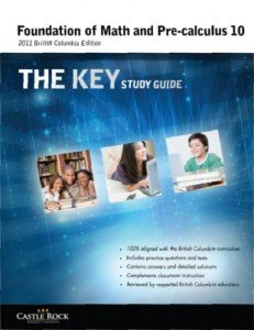 9781770441736: Foundation of Math and Pre-calculus the Key Study Guide