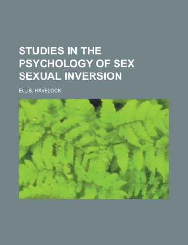9781770450417: Studies in the Psychology of Sex: Sexual Inversion