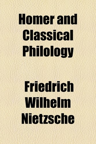 9781770452268: Homer and Classical Philology
