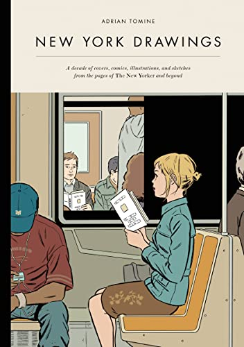 New York Drawings (Hardcover): Adrian Tomine