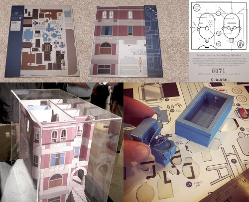 9781770461130: Chris Ware - Multi-Story Building Model limited edition