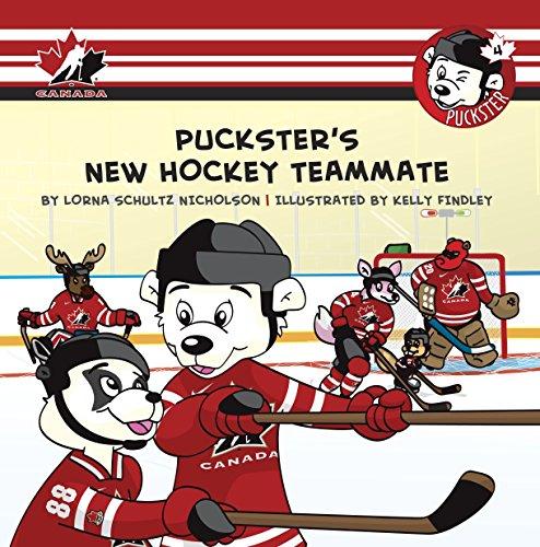 Puckster's New Hockey Teammate: Nicholson, Lorna Schultz