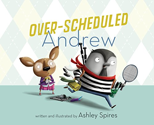 Over-Scheduled Andrew: Ashley Spires