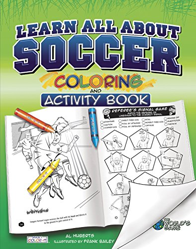 9781770495067: Learn All About Soccer: Color and Activity (Rule 1, Sports Color and Activity Books)
