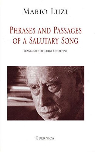 9781770510777: Phrases and Passages of a Salutary Song (Poets Series, 84)
