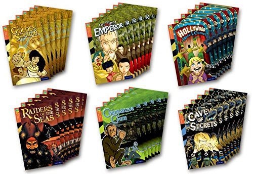 9781770583016: Oxford Reading Tree TreeTops Graphic Novels: Level 13: Pack of 6