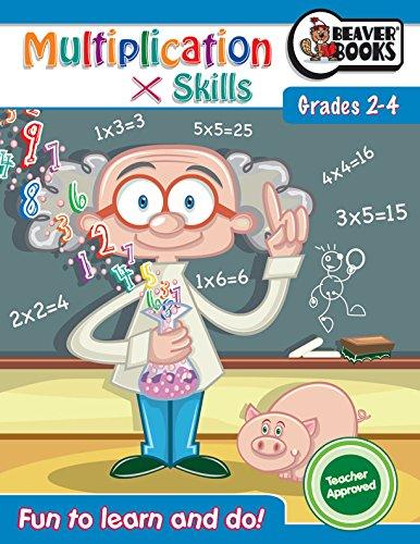 Workbook BBk: Multiplication (Math Book Series): Beaver Books