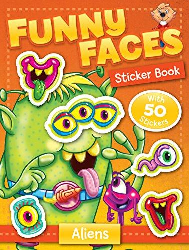 9781770662025: Funny Faces Sticker Book: Aliens (Funny Faces Sticker Books)