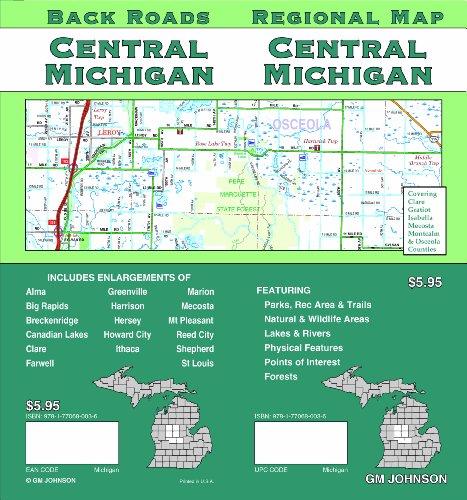 9781770680036: Central Michigan - Regional Map