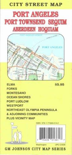 9781770680142: Port Angeles/Port Townsend Street Map GMJ