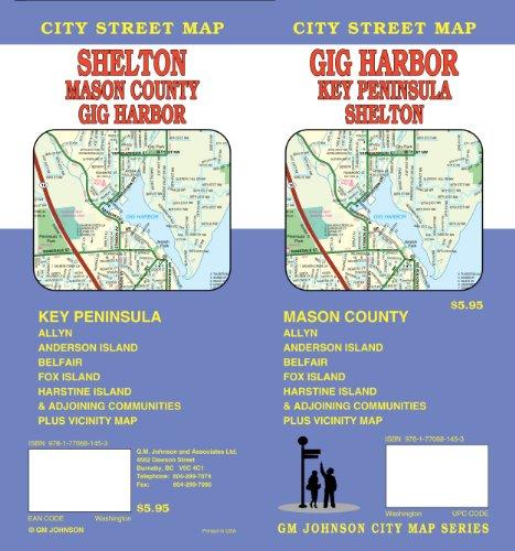 9781770681453: Gig Harbor, WA City Street Map