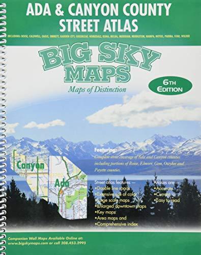 9781770682719: Ada & Canyon County Street Atlas