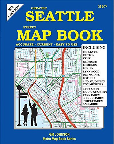 Seattle Map Book 8th Edition: G M Johnson