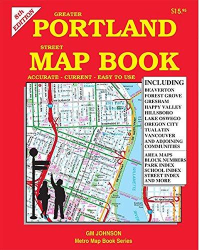 9781770684539: Greater Portland Street Map Book, Oregon