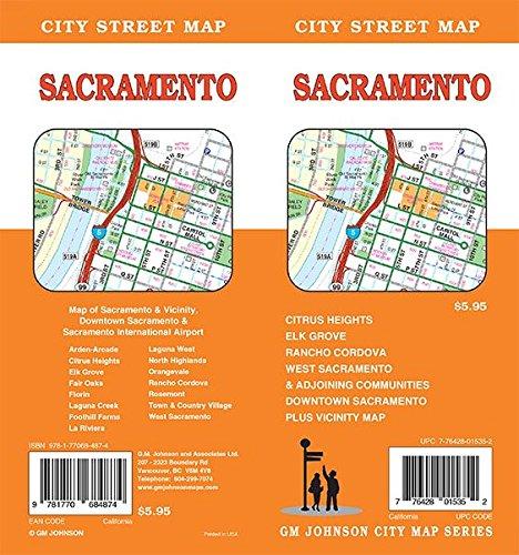 9781770684874: Sacramento, California Street Map