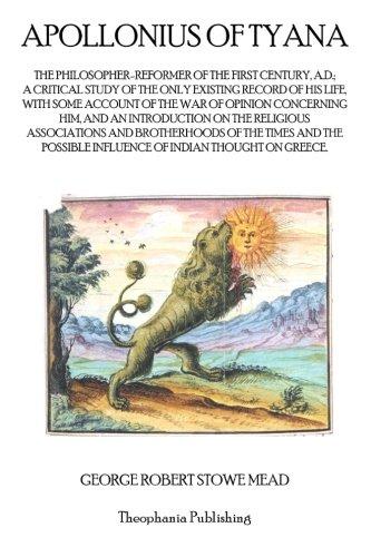 9781770830929: Apollonius of Tyana