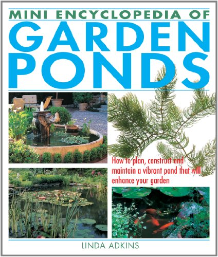 9781770850095: Mini Encyclopedia of Garden Ponds: How to Plan, Construct and Maintain a Vibrant Pond That Will Enhance Your Garden
