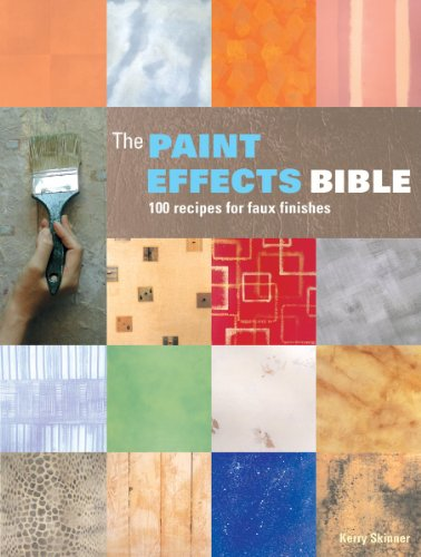 9781770851405: The Paint Effects Bible: 100 Recipes for Faux Finishes
