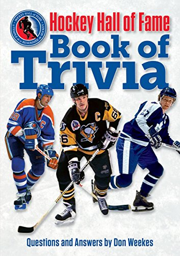 Hockey Hall of Fame Book of Trivia: Weekes, Don