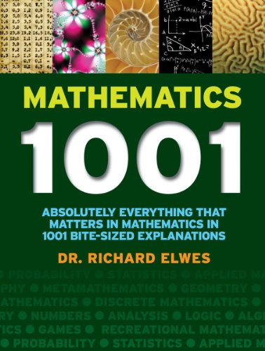 9781770855007: Mathematics 1001: Absolutely Everything That Matters in Mathematics in 1001 Bite-Sized Explanations