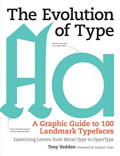 9781770855045: The Evolution of Type: A Graphic Guide to 100 Landmark Typefaces: Examining Letters from Metal Type to Open Type