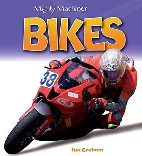 9781770858497: Bikes (Mighty Machines)