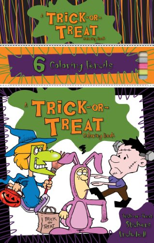9781770933194: Trick or Treat Coloring Book: Coloring Book & Pencil & Sticker Set