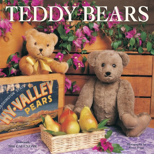 9781770986251: Teddy Bears 2016 Square 12x12 Wyman