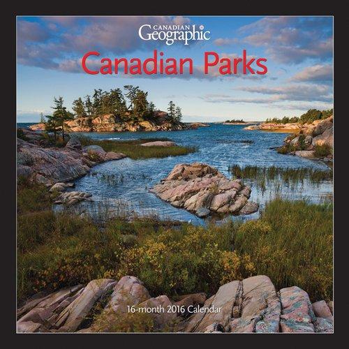 9781770986510: Canadian Geographic Canadian Parks 2016 Mini 7X7 Wyman